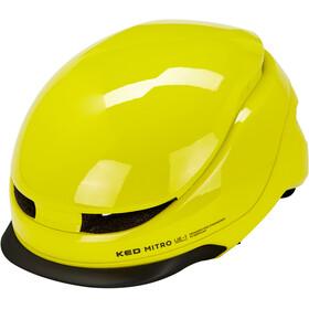 KED Mitro UE-1 Helm, neon green